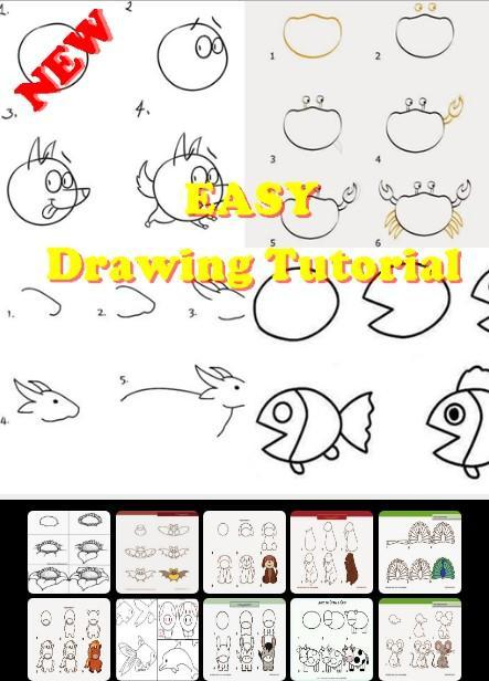 Easy Drawing Tutorial poster
