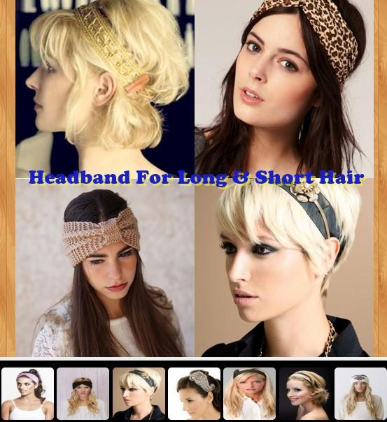 Headband For Long Short Hair For Android Apk Download