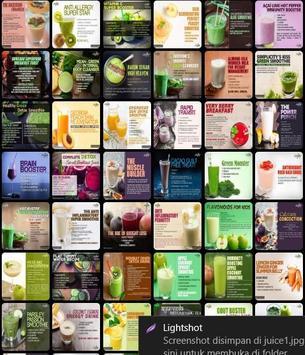 Healthy Juices screenshot 1