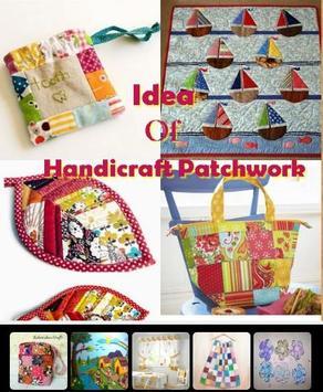 Idea Of Handicraft Patchwork poster