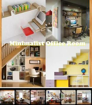 Minimalist Office Room poster