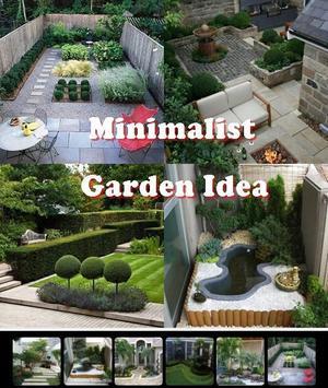 Minimalist Garden Idea poster