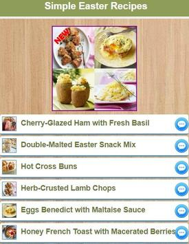 Simple Easter Recipes poster