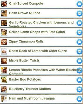 Simple Easter Recipes apk screenshot