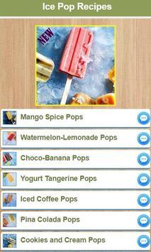 Simple Ice Pop Recipes apk screenshot