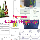 Pattern Ladies Handbags icon