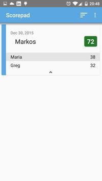 Imbascorer - Score Pad screenshot 4