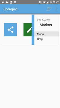 Imbascorer - Score Pad screenshot 5