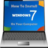 Learn to install Computer Windows 7 icon