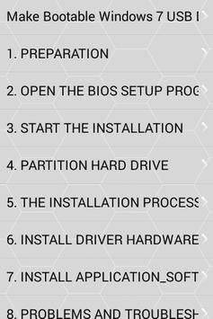 Learn to install Computer Windows 7 poster