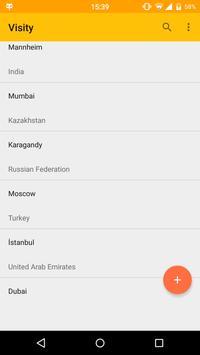 Visity apk screenshot