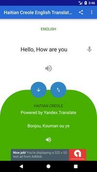 Haitian Creole English translator screenshot 2