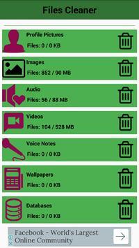 Files Cleaner 2017 KAMTECH apk screenshot