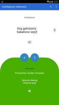 Azerbaijani Indonesian Translator poster