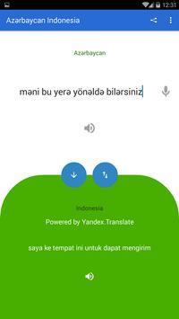 Azerbaijani Indonesian Translator screenshot 2