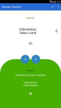 Bosnian German Translator poster