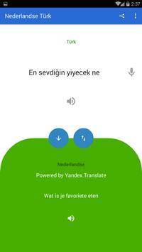 Dutch Turkish Translator screenshot 1