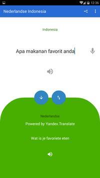Dutch Indonesian Translator screenshot 1