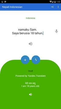 Nepali Indonesian Translator screenshot 3