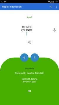Nepali Indonesian Translator poster