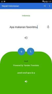 Nepali Indonesian Translator screenshot 1