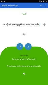 Nepali Indonesian Translator screenshot 2