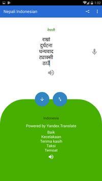 Nepali Indonesian Translator screenshot 4