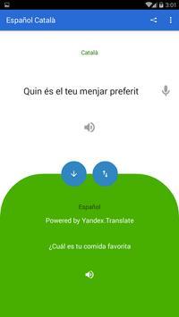 Spanish Catalan Translator screenshot 1