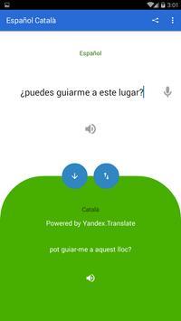 Spanish Catalan Translator screenshot 2