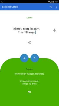Spanish Catalan Translator screenshot 3