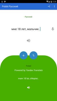 Polish Russian Translator screenshot 3