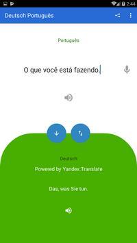 German Portuguese Translator screenshot 1