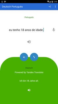 German Portuguese Translator screenshot 3