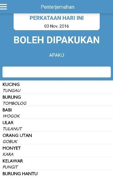 Kamus Dusun Dusun Dictionary For Android Apk Download