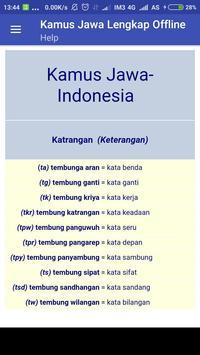 Kamus Jawa Lengkap Offline screenshot 5