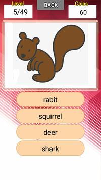 เกมทาย ชื่อสัตว์และแมลง screenshot 4