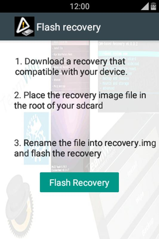 [root]recovery tools flasher android free download [root.