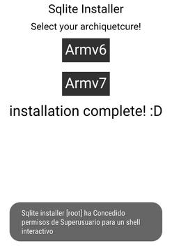 Sqlite installer for root apk 截图