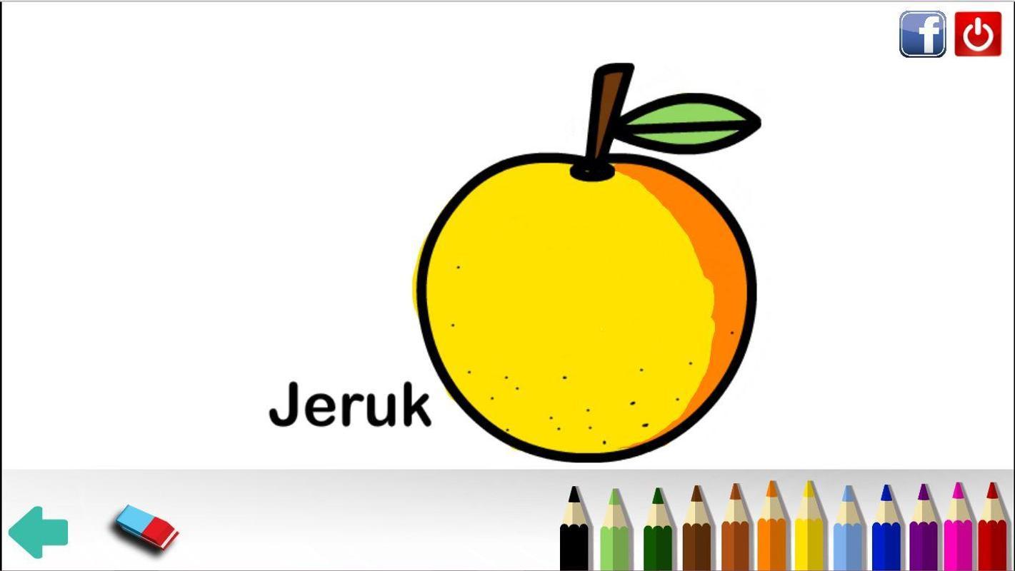 Mewarnai Gambar Buah Dan Sayur для андроид скачать Apk