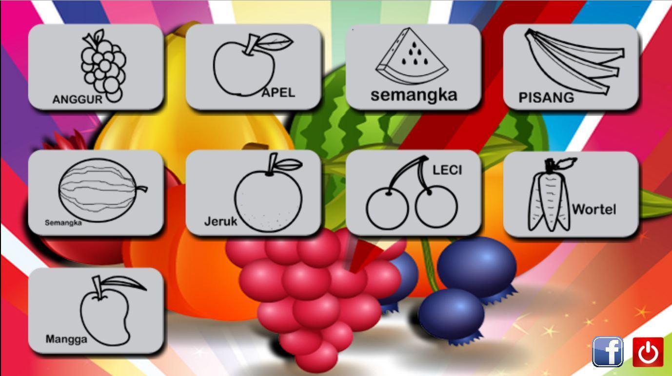 Mewarnai Gambar Buah Dan Sayur For Android APK Download