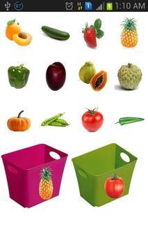 Kids Fruits Sorting Game screenshot 3