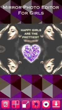 Mirror Photo Editor for Girls apk screenshot