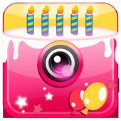 Cumpleaños Collage de Fotos icono