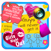 Cute Stickers for Girls icon