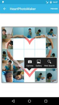 Heart Photo Maker -collage fun poster