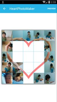 Heart Photo Maker -collage fun apk screenshot