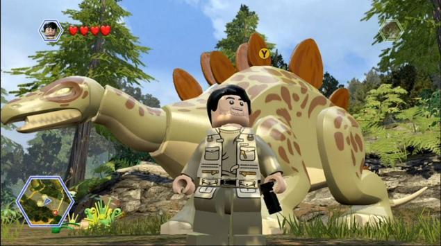 FastCheat Lego Jurassic World's poster