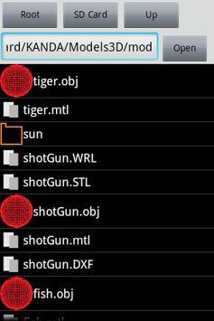 Model Viewer apk screenshot