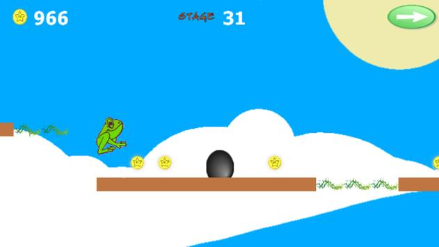 Cool Jumper Frog Game screenshot 1