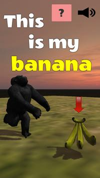 This is my banana poster